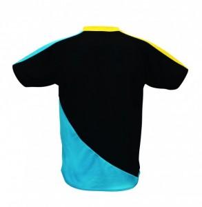 MS・Tシャツ ブラック×ブルー後