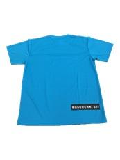 絆Tシャツ ブルー後ろ